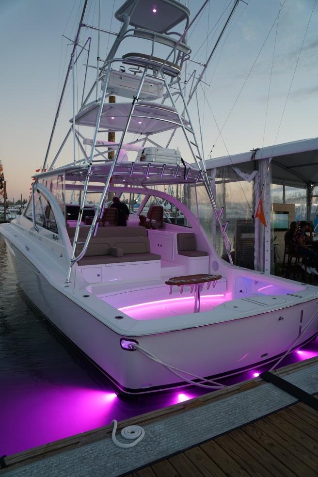 Lumishore Lighting System on Mag Bay Yacht